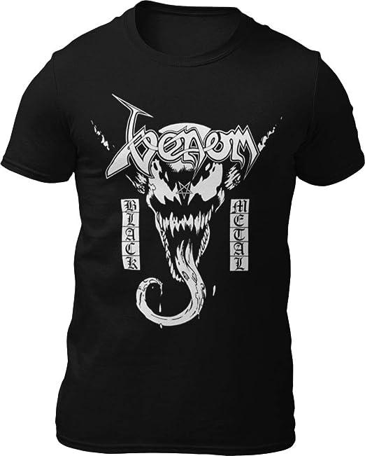 Amazon.com: Venom VS Venom – Camiseta de metal, color negro ...