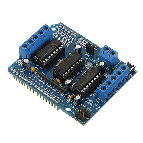 - DAOKI Motor Drive Expansion Shield Board Module L293D For Arduino Duemilanove Mega UNO Due