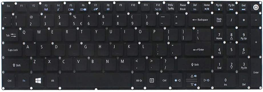 Notebook Keyboard Replacement for Acer Aspire E5-722 E5-772 V3-574G G-557U F5-572G V5-591G T5000 N15W6 N15Q12