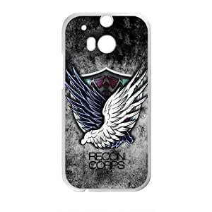 Happy Attack on titan Recon Corps Cell Phone Case for HTC One M8