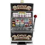 Crazy Diamonds Slot Machine Bank, Authentic Replication
