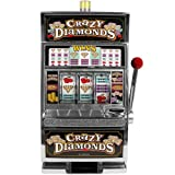 RecZone Crazy Diamonds Slot Machine Bank - Authentic Replication