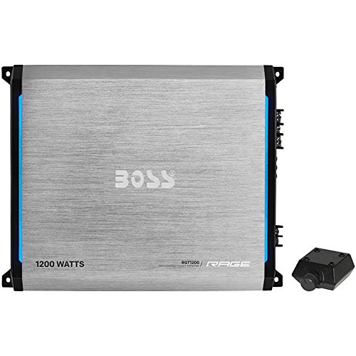 BOSS AUDIO RGT1200 Rage 1200-Watt Full Range, Class A/B 2 to 8 Ohm Stable 2 Channel Amplifier with Remote Subwoofer Level Control (Gta 4 Platinum Hits compare prices)