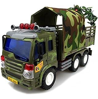 Amazon com: FUN LITTLE TOYS Fireman Toy Rescue Truck