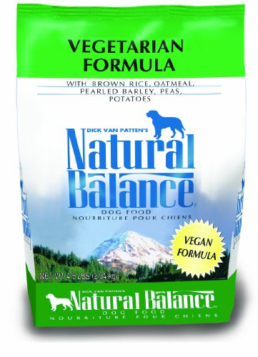 Natural Balance Vegetarian Formula Dry Dog Food, 4.5-Pound Bag