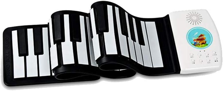 LIUFS-El teclado Hand Roll Electronic Piano Principiante ...