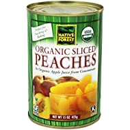 Native Forest Peach Sliced, 15 oz