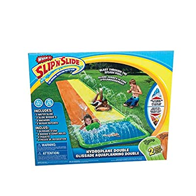 Wham-O Slip 'N Slide Hydroplane Double XL Water Toy | Extra-Long Inflatable Summer Water Slide | Summer Fun for Kids: Toys & Games