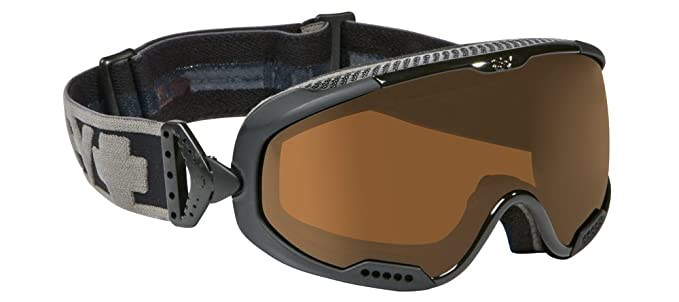73430c241f9 SPY OPTICS APOLLO SNOWBOARD SKI GOGGLES - BLACK STALLION-BLACK FRAME WITH  BRONZE LENS