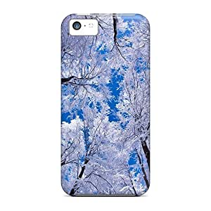 Ideal Hotcases Case Cover For Iphone 5c(snow In The Sky), Protective Stylish Case