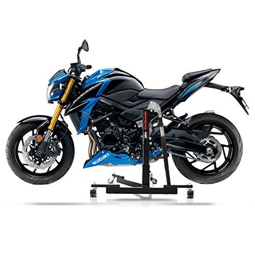 ConStands Power Evo-Zentralst/änder Suzuki GSX-S 750 17-19 Schwarz Motorrad Aufbockst/änder Montagest/änder Heber