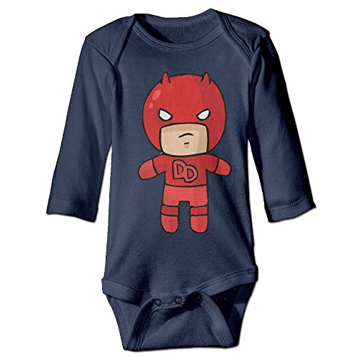 - The Cutest Cartoon Daredevil Demolidor Long Sleeve Newborn Bodysuits