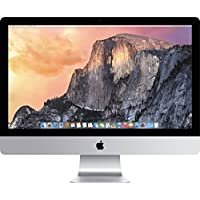 Apple iMac 27 Desktop with Retina 5K display - 3.3 GHz Intel Core i5, 1TB Hard Drive, 8GB 1600MHz DDR3 SDRAM, AMD Radeon M290 GPU 2GB GDDR5, Mac OS X Yosemite, (Mid 2015)
