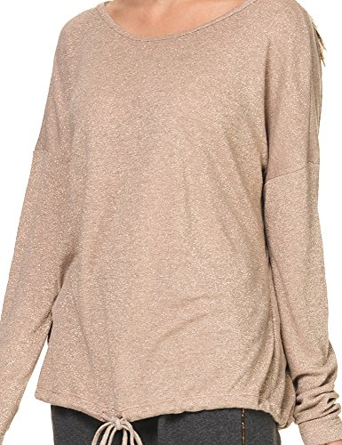 Rose Dust Women's Sweatshirt Lurex Deha qx178tTx
