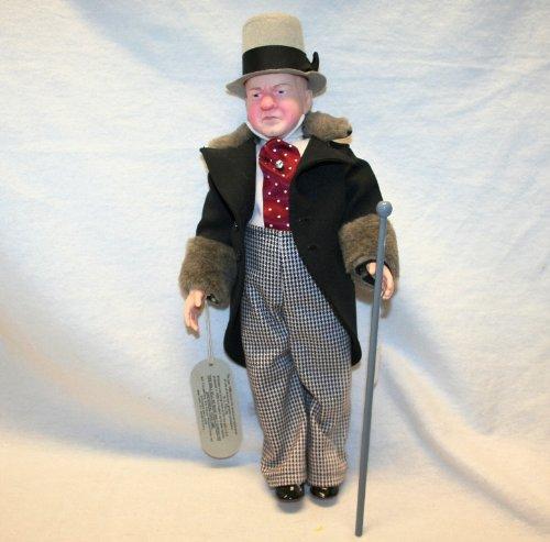 """Effanbee Legends Series 18"""" W.C. Fields Doll, 1980"""
