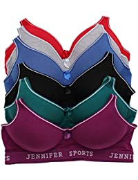 Jennifer Intimate 6 Pack Sports Bra