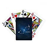 Scorpion Constellation Zodiac Sign Poker Playing Card Tabletop Board Game Gift
