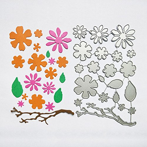 2018 Nostalgia Metal Die Cutting Dies Handmade Stencils Template Embossing for Card Scrapbooking Craft Paper Decor By E-SCENERY (A)
