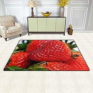 mrmian Fresh tasty fresa tela no tejida 60x 39en zona alfombra para interiores/para exteriores/baño Felpudo