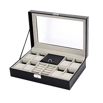 Estuche de almacenamiento de reloj de lujo Caja de reloj, 8 ...
