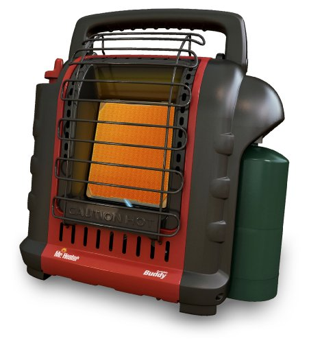 Mr. Heater F232025 MH9BX Buddy 4,000-9,000-BTU Portable Radiant Heater, California - Portable Heater Buddy Propane