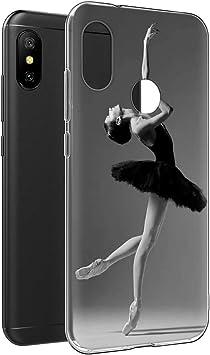 YOEDGE Funda Xiaomi Mi A2 Lite, Ultra Slim Cárcasa Silicona ...