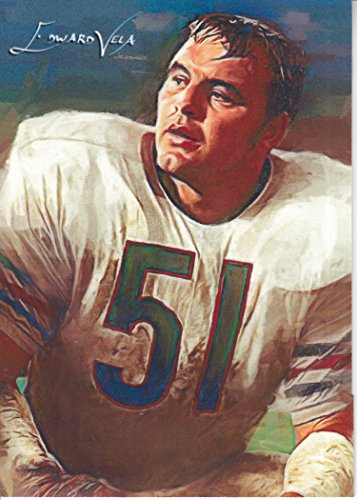 Dick Butkus #11- #25/25 - VERY RARE - Chicago Bears -MONSTERS OF MIDWAY-HALL OF FAME- Limited Edition Original Artwork Sketch Card- BUY IT NOW OR MAKE AN OFFER (Bears Art Chicago Original)
