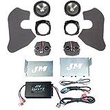J&M Audio Rokker XXR 2 Speaker with 330 Watt Amplifier Kit for 2006-2013 Harley-Davidson Electra Glide Street Glide models - HC-330XXR-ESG