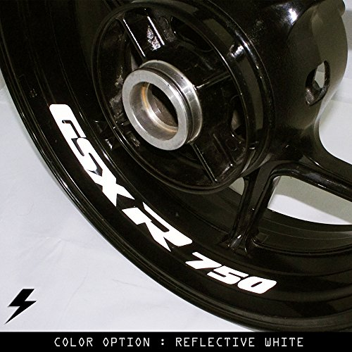 Suzuki GSXR 750 Motorcycle Inner Rim Sticker Stripe - Rims Rb