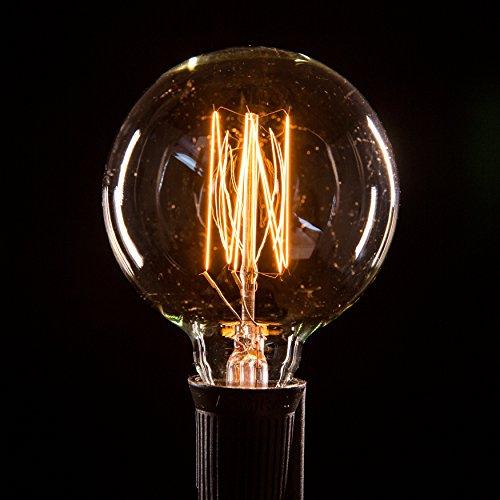 Box of 25 G60 Lantern Edison 2.5 Inch 7 Watt C9 E17 Base Replacement Bulbs by Hometown Evolution, Inc. (Image #5)