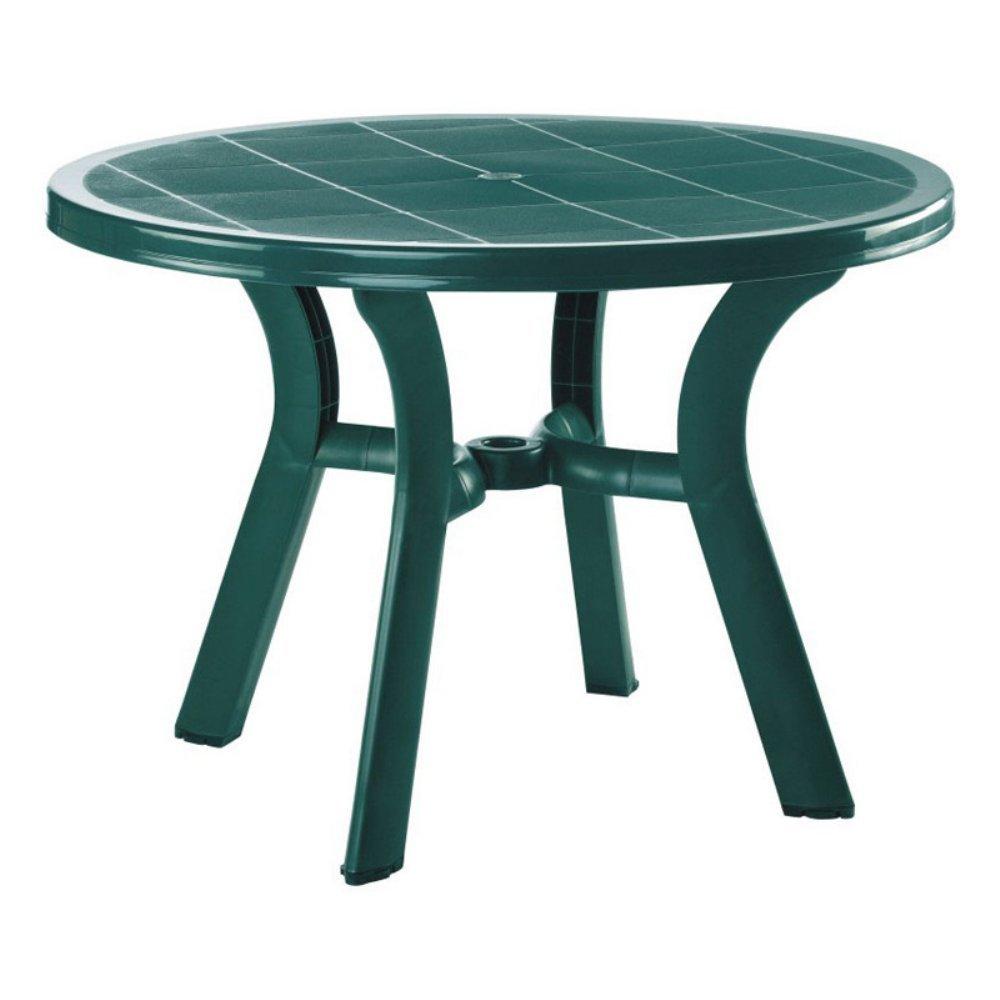 amazon com compamia truva resin round dining table 42 inch 29 h x
