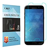 [8-Pack] Galaxy A5 2017 Screen Protector, J&D Premium HD Clear Film Shield Screen Protector for Samsung Galaxy A5 (Release in 2017)