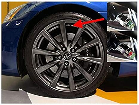 26 PSI Gozens 26-80psi TPMS Tire Pressure Monitor Valve Stem Cap Tyre Sensor Indicator