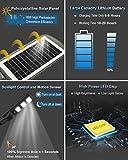 Solar LED Street Light, Outdoor 6000LM Powered