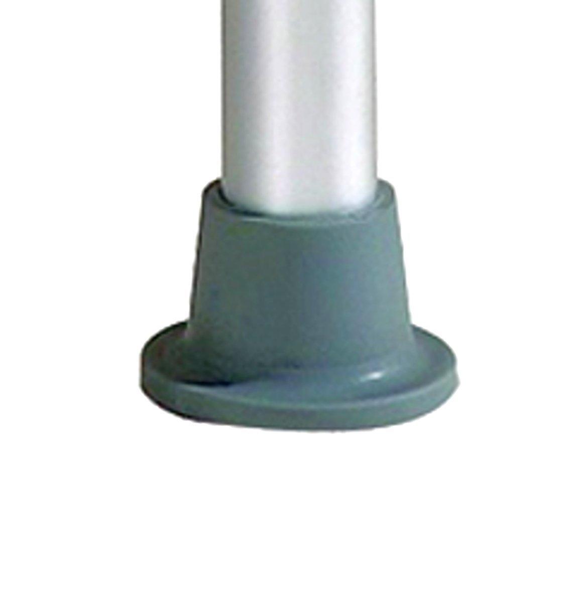 bis 136 kg Wei/ß FabaCare Duschhocker Premium Duschschemel Hocker 5-fach h/öhenverstellbar 35,5-52 cm runder Badhocker blau
