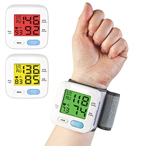 BodyHealt Wrist Blood Pressure Cuff Monitor -
