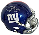 Odell Beckham Jr. Signed Giants Full Size Replica Speed Helmet w/ Visor+ USA Flag Sticker JSA