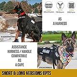 OneTigris Service Dog Harness No-Pull Dog Harness