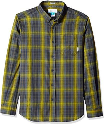 Columbia Men's Cooper Lake Long Sleeve Shirt, Alpine Tundra Plaid, XL ()