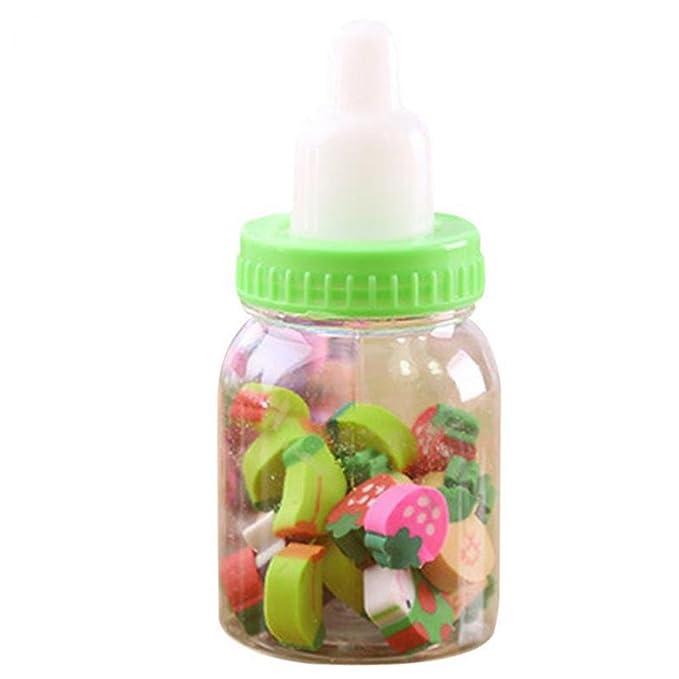 Minibotella de alimentación con diseño de frutas y gomas ...