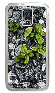 Samsung Galasy S3 I9300 Nature Rock Plants PC Custom Samsung Galasy S3 I9300 Case Cover Transparent