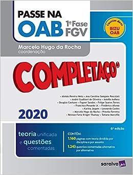 Passe na OAB - Completaço® - 1ª fase FGV - Teoria Unificada: Teoria Unificada e Questões Comentadas