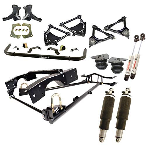 NEW RIDETECH AIR SUSPENSION SYSTEM,HQ SHOCKWAVES,FRONT COOLRIDE & HQ SERIES SHOCKS,MUSCLEBAR,STRONGARMS,SPINDLES,COMPATIBLE WITH 1963-1970 CHEVROLET C10 & GMC C15 TRUCKS