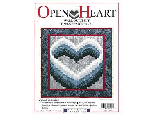 Rachel's Of Greenfield Quilt Open Heart Kit