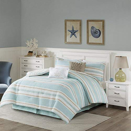 Harbor House Ocean Reef Comforter Set Seafoam Green