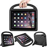 LEDNICEKER Kids Case for iPad 2 3 4 - Light Weight Shock Proof Handle Friendly Convertible Stand Kids Case for iPad 2, iPad 3rd Generation, iPad 4th Gen Tablet - Black