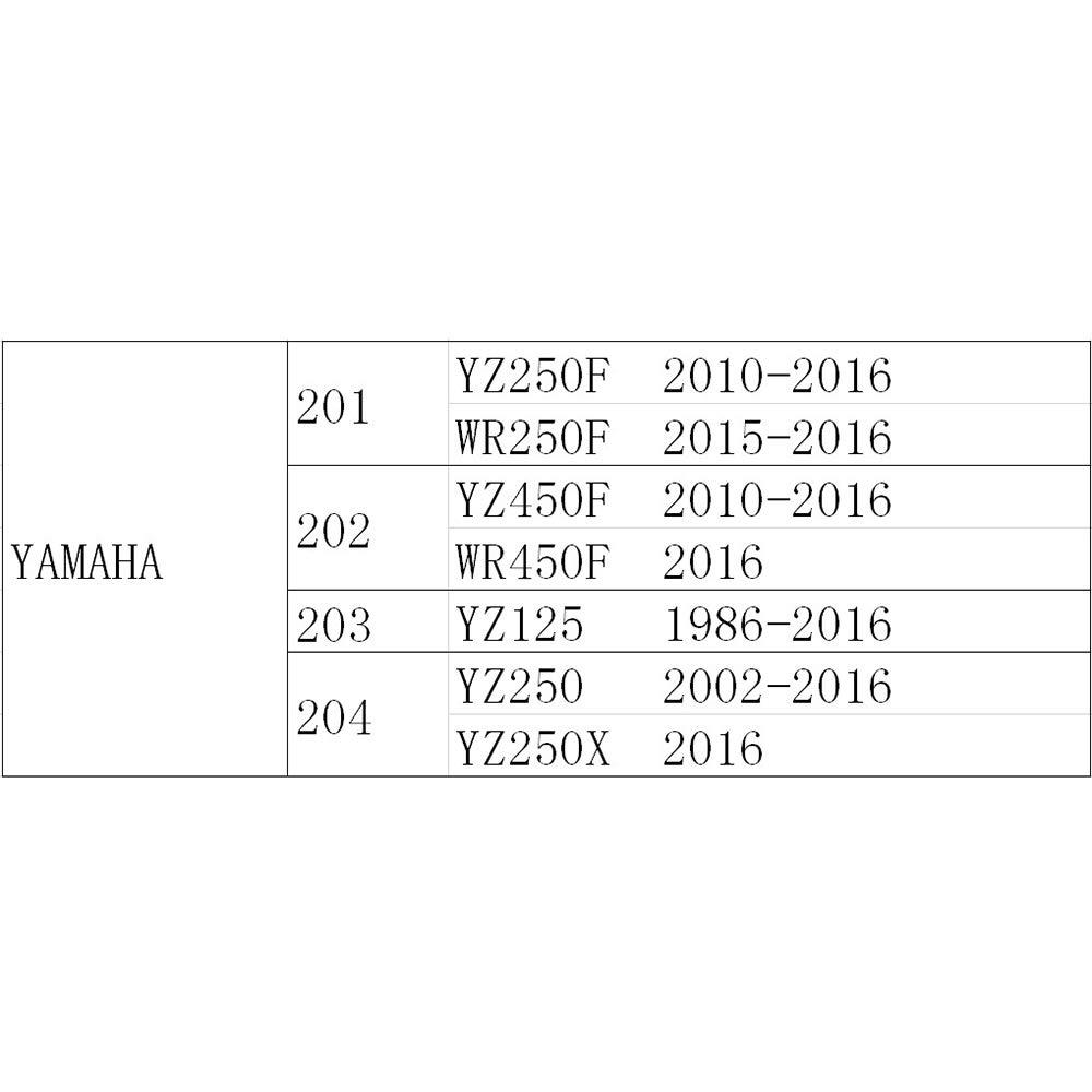 7075 Aluminum Alloy Forged Gear Shifter Shift Lever For YAMAHA YZ250F YZF250 YZ450F YZF450 2006-2013 WR250F 2007-2013 WR450F 2007-2015 YZ WR 250F 450F Dirt Bike