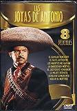 LAS JOYAS DE ANTONIO 8 PACK:EL GAVILAN VENGADOR/EL RAYO JUSTICIERO/LOS MUERTOS NO HABLAN/LA EMBOSCADA MORTAL/EL JUSTICIERO VENGADOR/LA MUJER DESNUDA/REVOLVER SANGRIENTO/VUELVE EL NORTENO