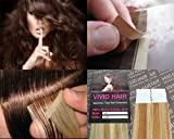 10 Pcs X 22″ inches Remy Seamless Tape In Skin weft Human Hair Extensions Color 7G/9G Strawberry Blonde Mix Light Blonde