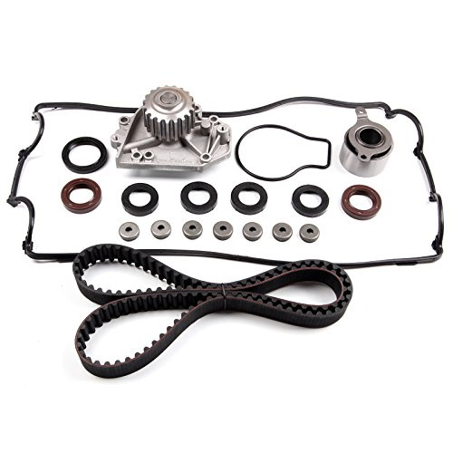 ECCPP Timing Belt Water Pump Valve Cover Gasket Kit Fit 1994-1995 ACURA INTEGRA RS 1.8L ()